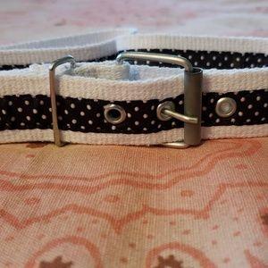 Polka Dot Belt